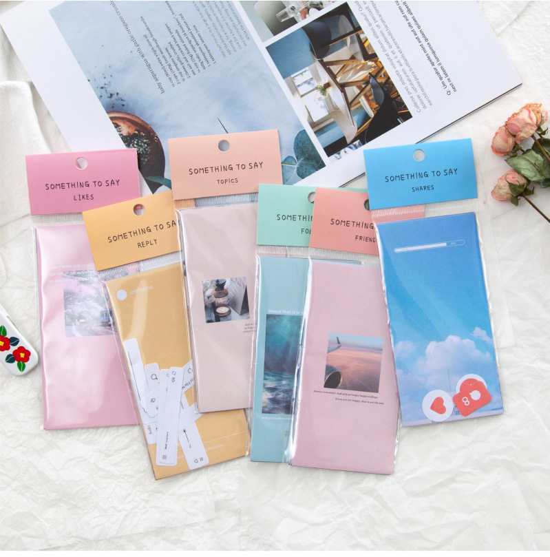 Mohamm 30 Sheets/lot Photo Flower Rainbow Notepad Memo Pad Note Memo Sheets Stationery Office Supplies