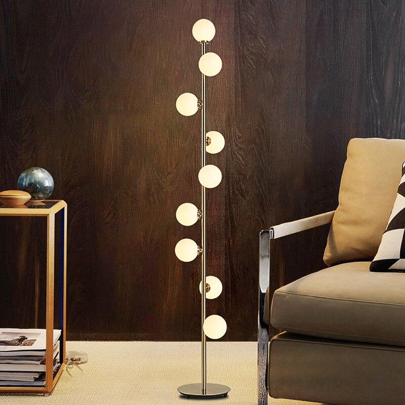 Современное украшение для дома, освещение Nordic современный светильник светодиодный гостиная торшер кровать используется для 110 V/220 V