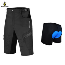 Underwear Shorts Bike Tights Bicycle MTB Downhll Bottom Reflective Base-Layer Windproof