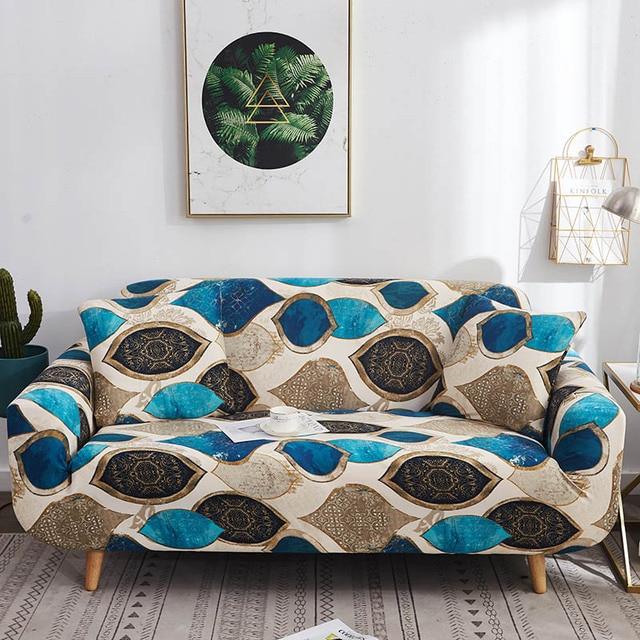 Фото эластичный чехол для дивана растягивающийся современный чехлы цена