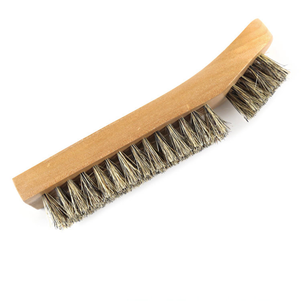 Brush Cleaner Tool Wooden Clean Wash Scrub Dust Remove Portable Washing in Shoe Brushes from Home Garden