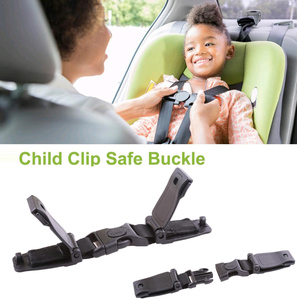 Car Baby Safety Seat Strap Belt Durable Harness Chest Clip Safe Buckle for Baby Kids Children Safety Strap Car Accessories