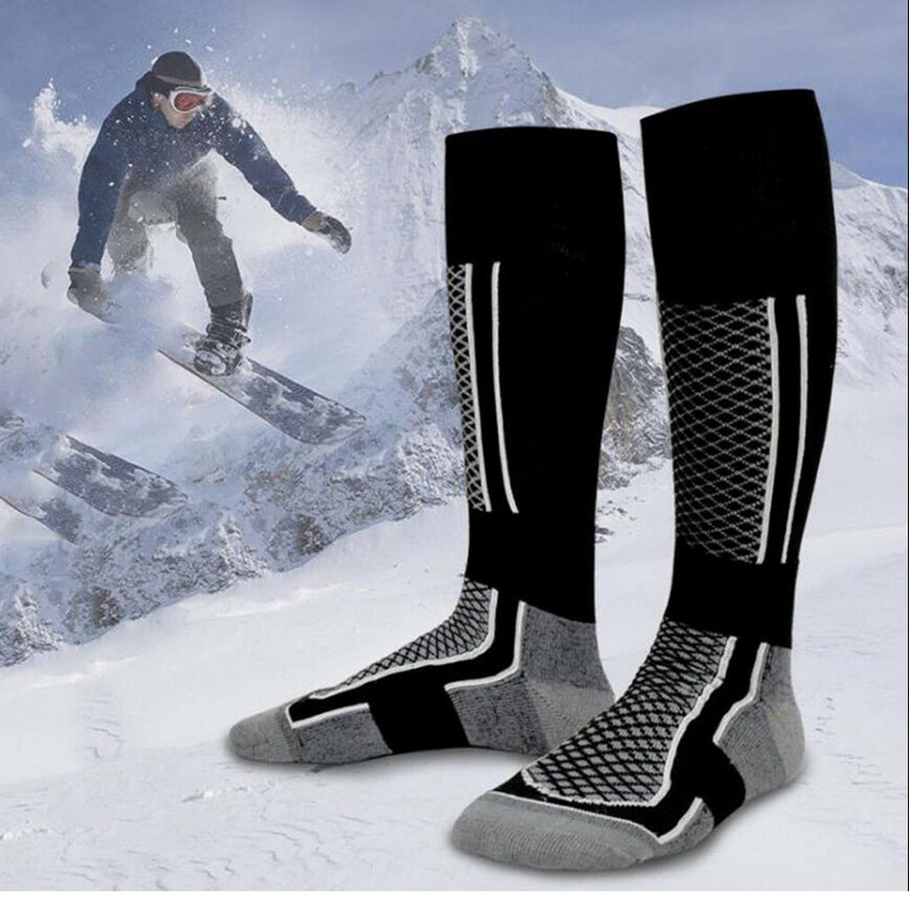 Unisex Men Women's Winter Warm Compression stockings Running basketball football socks Hiking Ski Socks Outdoor Sports Stockings