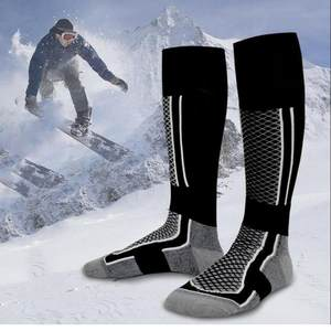 Football Socks Compression Stockings Running Outdoor Sports Winter Hiking Women's Warm
