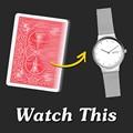 Uhr Diese Magie Tricks Spielen Karte Ändern Karte zu Uhr Close Up Street Illusion Gimmick Mentalismus Puzzle Spielzeug Magia Karte