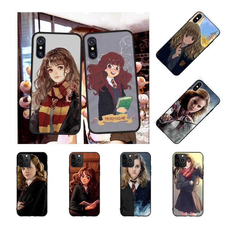 PENGHUWAN Hermione Jean Granger Coque Shell Phone Case for iPhone 11 pro XS MAX 8 7 6 6S Plus X 5S SE XR case