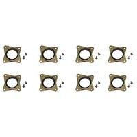 Amortiguadores de vibración de acero y caucho Nema 17 mejorados con tornillo Cnc para impresora 3D Creality Cr-10  máquina de Cr-10S Cnc 3D