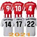 Новинка 20-21 футболка для атлетического клуба Бильбао, Los Leones, персонаж муниина Уильямс, футболка для тайского футбола, Новинка