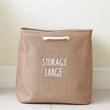 Большое хранилище открытое ведро для белья светильник коричневый чистящий мешок ведро домашний чехол для домашнего использования сумка чехол Kep ванная комната