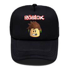 New Game Roblox Cartoon Kids Sun Baseball Caps Hat Hip Hop Hats Boy Girl Action Toy for Children Birthday Gift Fans Souvenir(China)