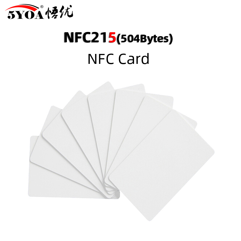 5pcs NFC Card 215 Chip For TagMo Forum Type2 NFC215 13.56mHz For Huawei Share Ios13 Personal Automation Shortcuts