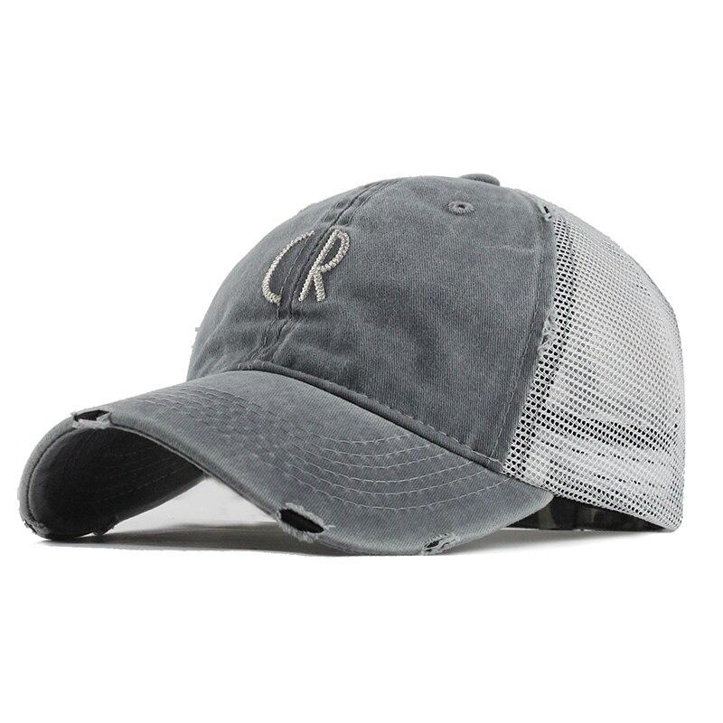 Mesh Baseball Cap For Women Men'S Summer Fitted Cap Snapback Dad Hat For Men Bone Gorra Casquette Fashion Hat#B519 5