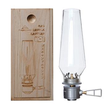 Lampa świeca gazowa na zewnątrz namiot latarnia światło dla plecakiem Camping piesze wycieczki wędkarstwo stop aluminium + stal nierdzewna + szkło tanie i dobre opinie CN (pochodzenie) kieszonkowe narzędzia uniwersalne