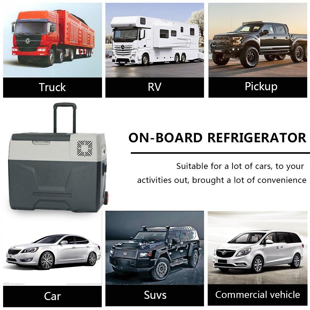 30L Mini Tragbare Kühlschrank Kühlbox Campingbox Auto LG-Kompressor