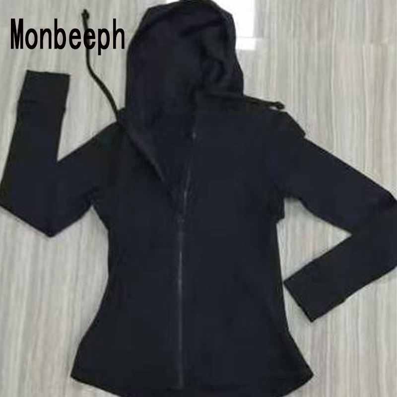 MOnbeeph 2019 Women  Jackets Zipper Zip-up Hoodies Jacket Free Shipping Size 4-12
