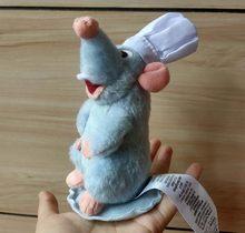 Оригинальная плюшевая игрушка Реми шеф-повара рататуиля с магнитным плечом