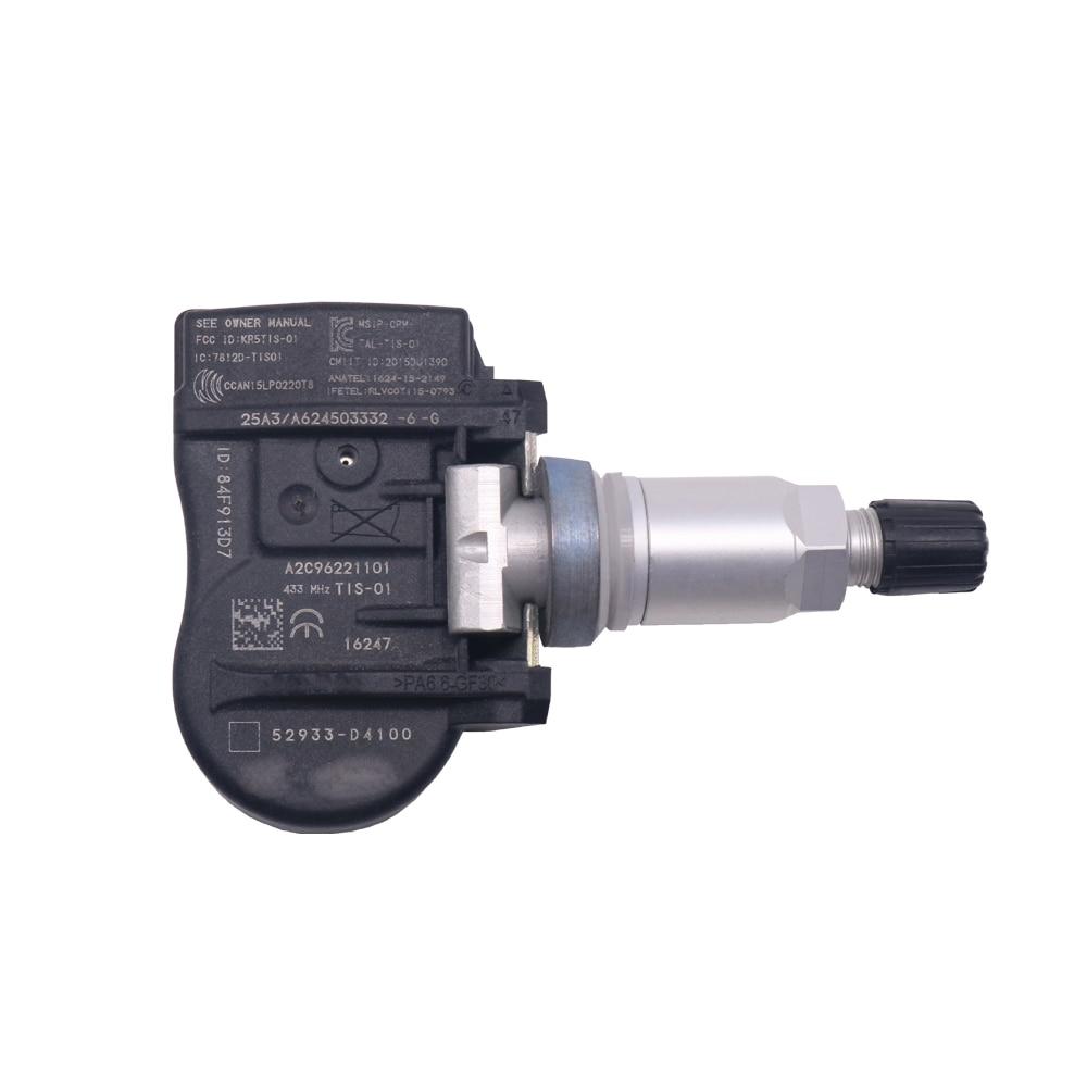 FOR 2014-2023 Hyundai GRANDEUR TPMS Sensor TIRE AIR PRESSURE SENSOR  52933-D4100 52933-F2000 433mhz