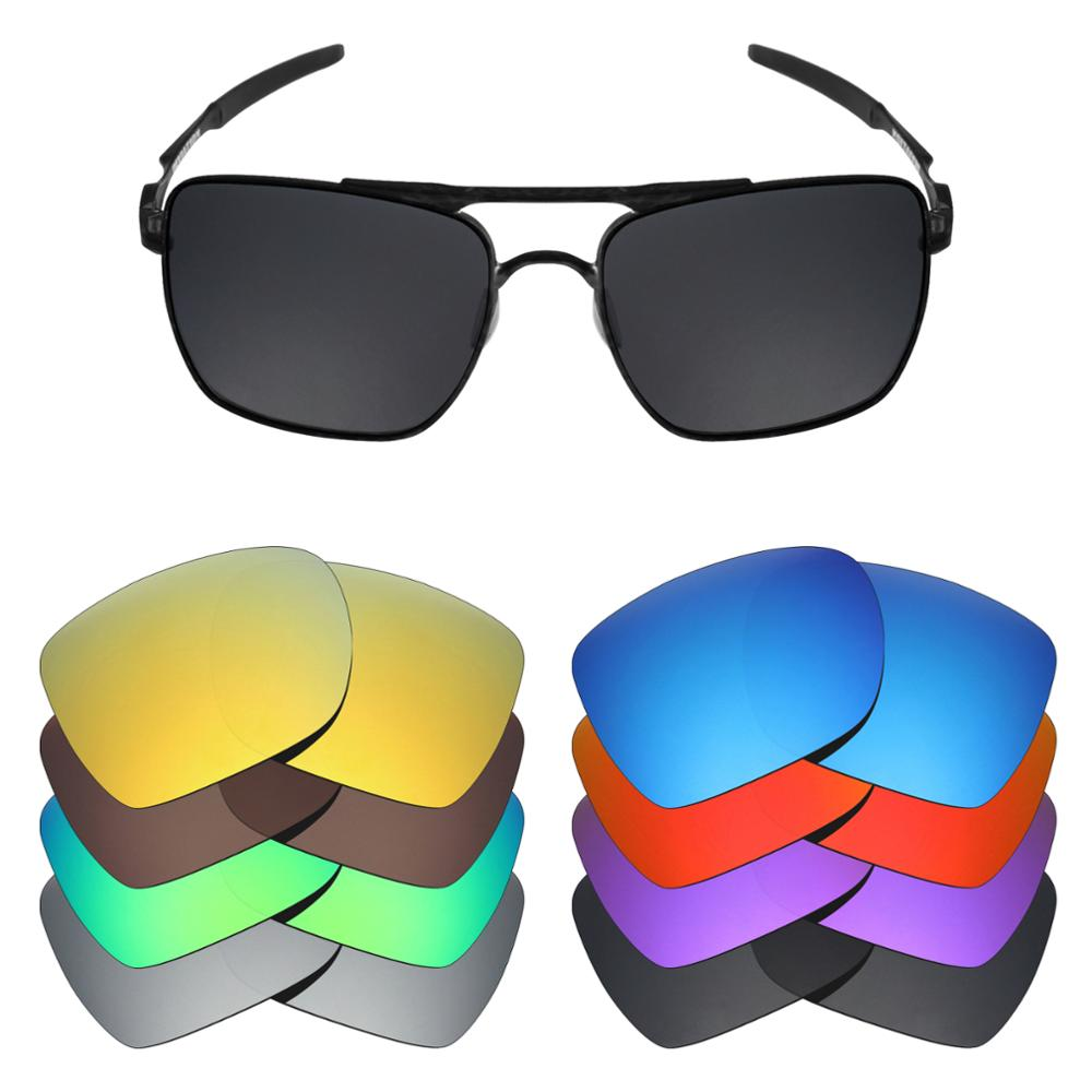 Mryok 20+ Color Choices Polarized Replacement Lenses For - Oakley Deviation Sunglasses Lenses(Lens Only) Multiple Choices