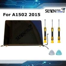 本物の新しいフルディスプレイアセンブリ macbook pro の網膜 13 A1502 液晶画面アセンブリ MF839 M841 emc 2835 早期 2015