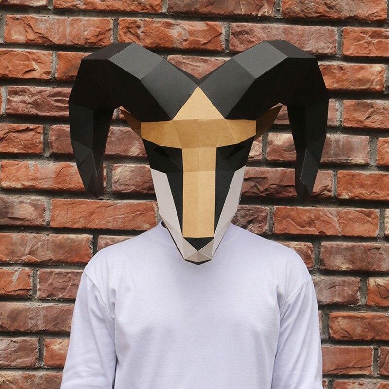 מסכת ראש אוריגמי - אייל  5