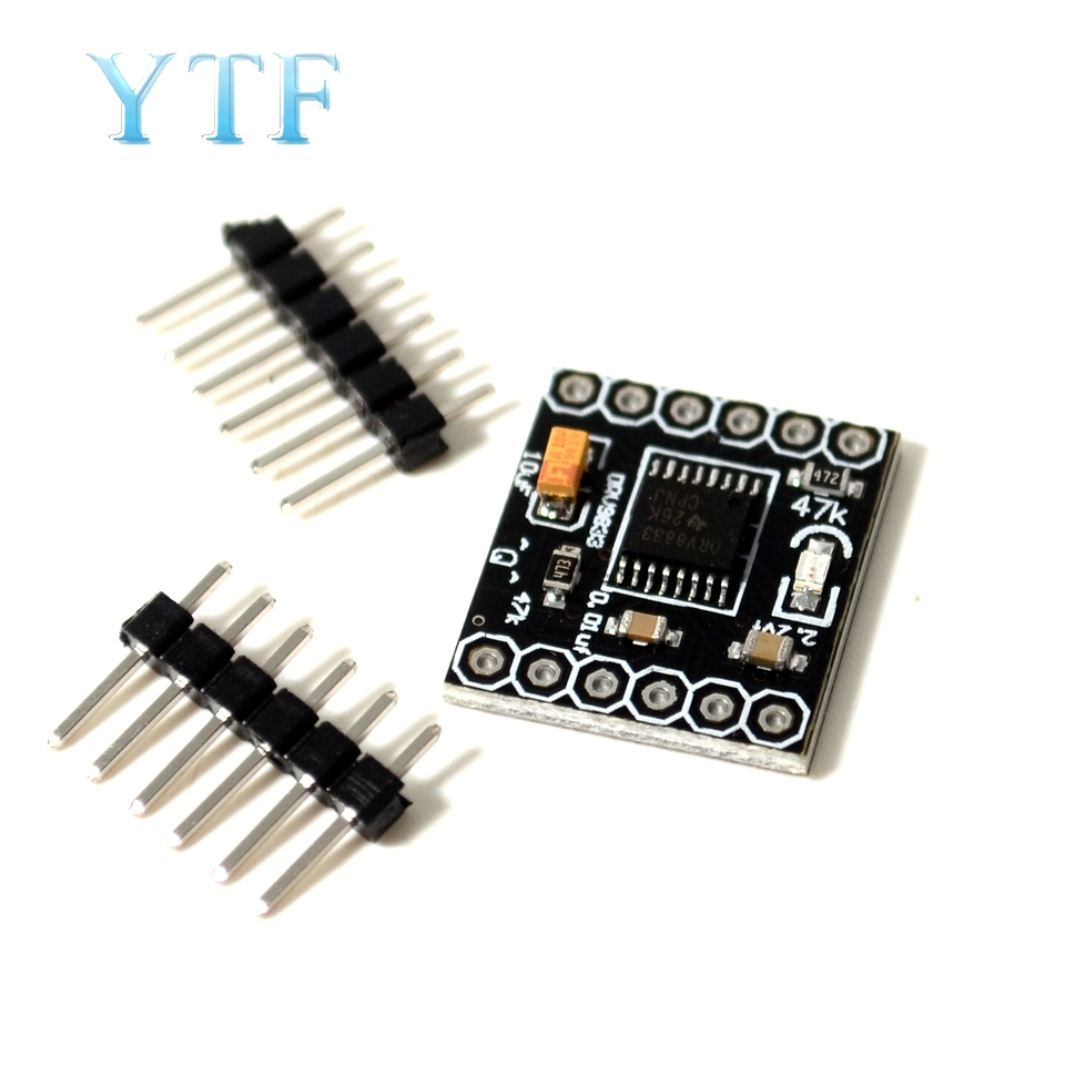 Durable DC 3V-10V DRV8833 2 Channel Motor Driver Module Board 1.5A for Arduino