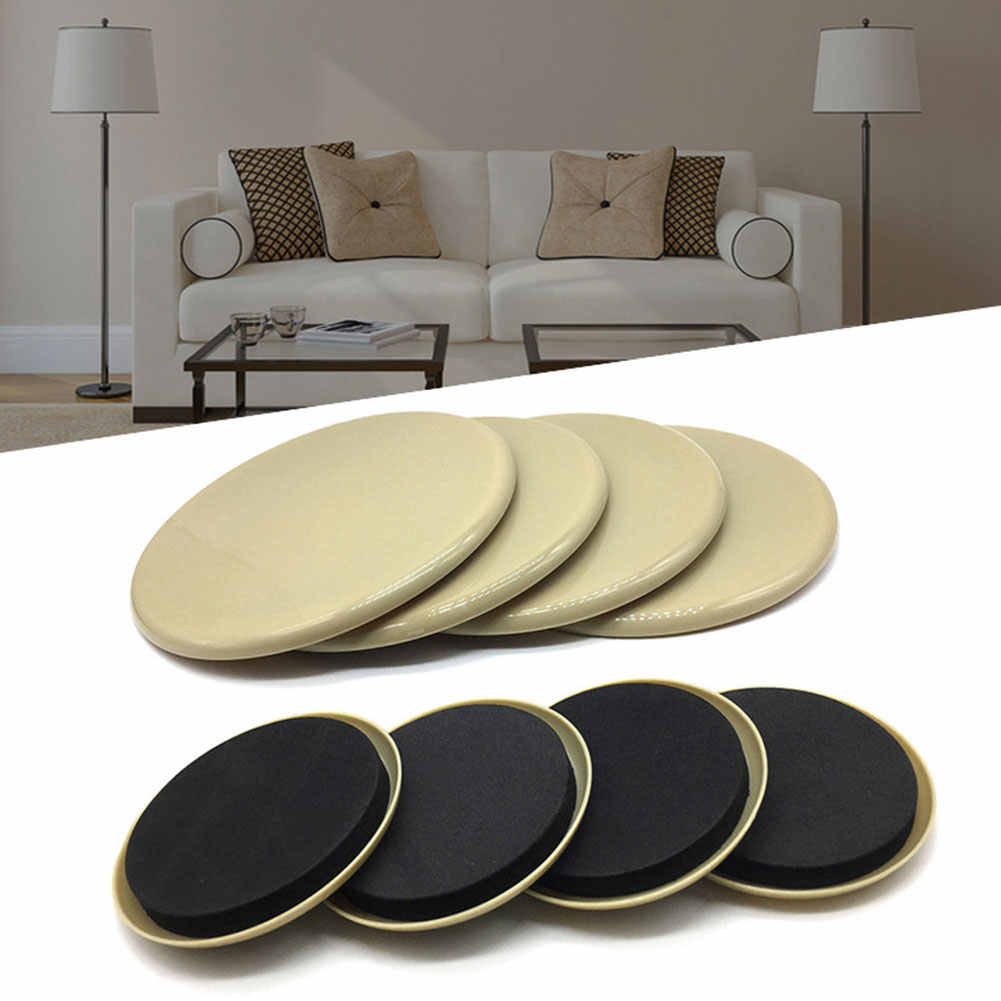 Furniture Bed Sofa Couch Moving Sliders Slider Pads For Hardwood Floors 3.5inch