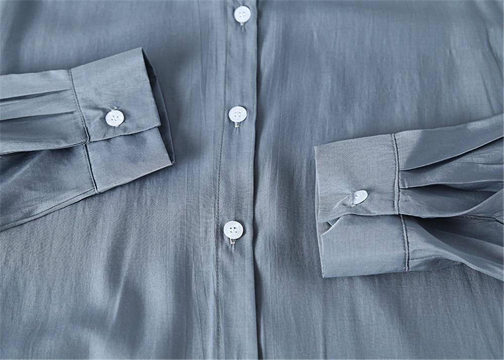 Spring Women Blouse 2020 Summer Blouse Korean Long Sleeve Womens Tops Blouses Vintage Woman Shirts Blusas Roupa Feminina Tops (21)