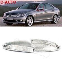 Luz LED intermitente de espejo lateral para coche mercedes benz Clase C W204, W164, W639, S204, ML300, ML500