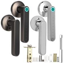 Door-Lock Biometric Fingerprint Bluetooth Smart Password Keyless APP Entry-Lever Deurklink