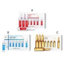 2019 Six-Peptide/Niacinamide/Hyaluronic Acid Ampoule Essence Face Skin Serum Anti-wrinkle Anti-aging Whitening Hydrating