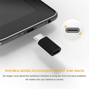 4PCS Micro USB To Type C Android Phone Cable for Huawei Sumsang Xiaomi Microusb To Typec Usbc Otg Adapter Charging Data Cable