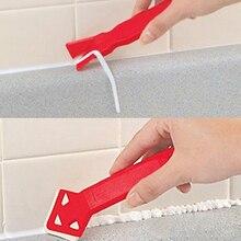 2шт стекло клей скребок уголок клей удаление скребок пол плитка шпатель пластик клей лопата рука инструмент