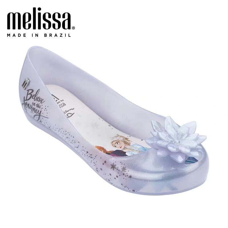 Melissa Mel Ultragirl + Little Mermaid Infantil Girl Jelly Shoes Sandals 2020 Shoes Melissa Sandals Big Children Non-slip