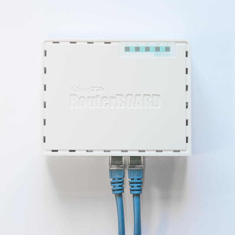 MikroTik RB750Gr3 Hex ROS 5-Port Mini Router 5x1000Mbps Ports RouterOS L4 4