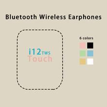 Gorąca sprzedaż i12 TWS oryginalny inPods 12 słuchawki słuchawki bezprzewodowe z Bluetooth Macaron słuchawki Tws z etui z funkcją ładowania pk i9s i7s tws tanie tanio CHUYONG NONE Dynamiczny CN (pochodzenie) wireless 120dB Monitor Słuchawkowe Do Gier Wideo Wspólna Słuchawkowe Dla Telefonu komórkowego
