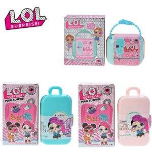 L. O. L. SURPRISE! Lol poupées Surprise jouets noir or poupée original bricolage manuel aveugle boîte modèle poupée jouet anniversaire cadeau aléatoire envoyé