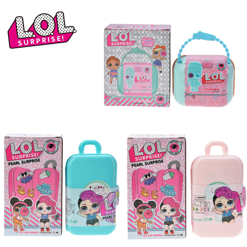 L.O.L.SURPRISE! Lol Dolls Surprise Toys Black Gold Doll Original DIY Manual Blind Box Model Doll Toy Birthday Gift Random Sent