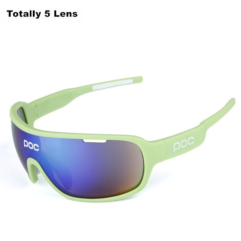 Men Women Sport POC Cycling Bike Eyewear Bicycle Sun Glasses Polarized Ciclismo Motorcycle Fishing Sunglasses For POC Cycling