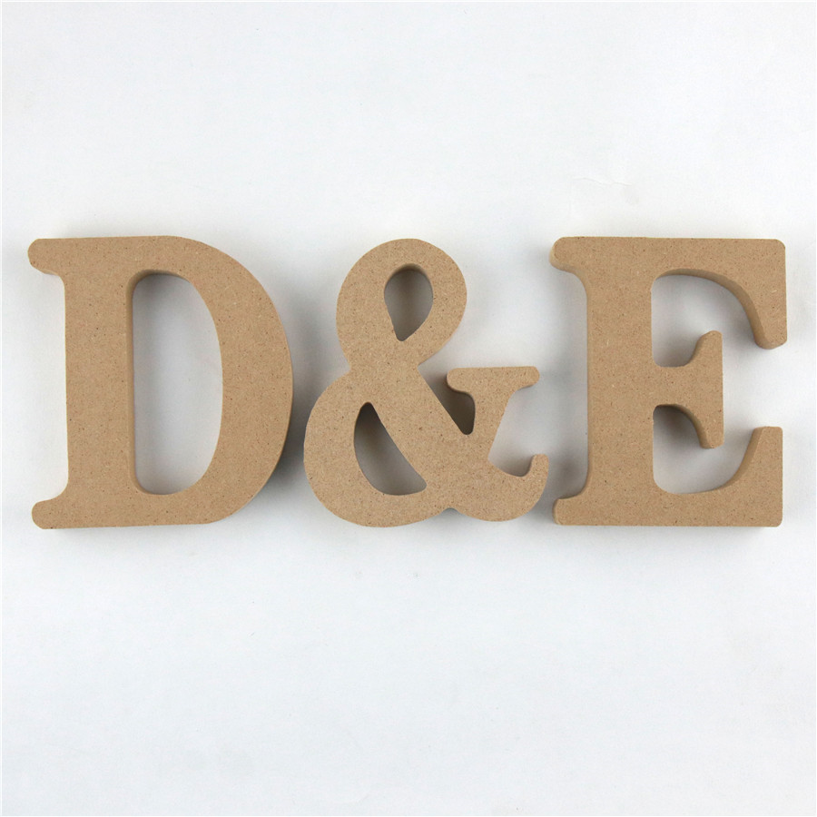 1pc 10cm Wooden Letters Alphabet Name Letter Standing DIY Word Design Art Crafts Party Home Decor Wood Color Height 3.94 Inches
