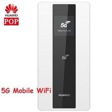 Orijinal Huawei 5G cep WIFI yönlendirici için Huawei E6878 870 5G n41/n77/n78/n79 4G B1/3/5/7/8/20/B28/B32/B34/B38/39/40/41/42/43