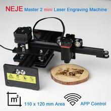 Neje desktop laser engraver and cutter mini engraving machine