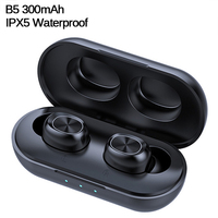 B5 TWS Bluetooth Wireless Earphone 5.0