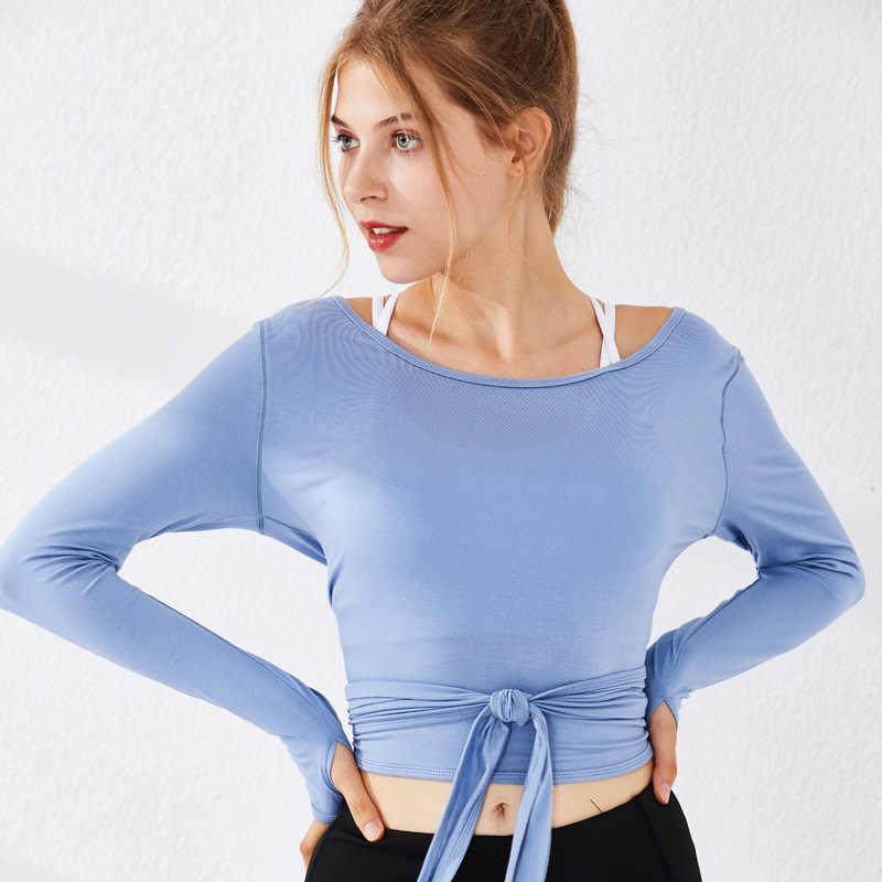 Sportswear Respirável T-Shirt Partes Superiores da Ioga da Aptidão das mulheres-secagem Rápida Camisas Running da Aptidão Desgaste Camisola Tops
