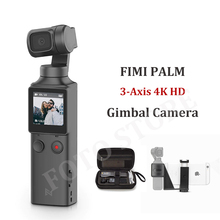 FIMI PALM Pocket Camera 3 Axis Handheld Action Gimbal Camera Stabilizer 4K HD Portable Gimbal Camera For Vlog Smartphone