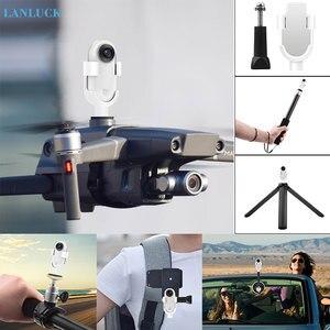 Image 1 - Aksesuarları Insta360 Go eylem spor kamera sırt çantası montaj adaptörü klip bisiklet Tripod özçekim sopa kutup emme konnektörü