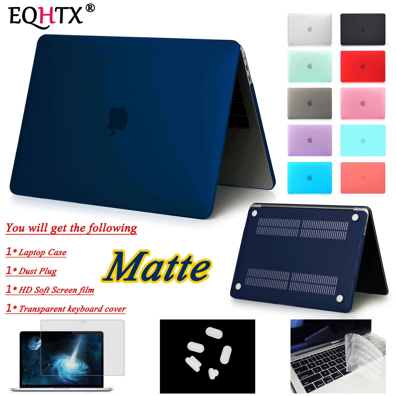 Новый чехол для Apple Macbook M1 чип Air Pro Retina 11 12 13 15 16 дюймов Сумка для ноутбука, 2020 Touch Bar ID Air Pro 13,3 дюймов Чехол