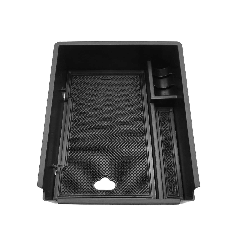 RUIYA для Tucson NX4 otali.ru ящик для хранения в подлокотнике автомобиля Центральной Управление авто Интерьер Организатор аксессуары черный