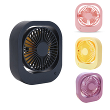 Mini Desk USB Fan 2-Speed Portable Quiet with 360 Rotation Adjustable For Office Car Home Travel Laptop Gadget