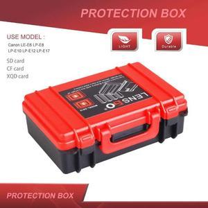 Image 5 - Battery Storage Box Portable Carrying Bag Memory Card Holder Case for Nikon EN EL14  EN EL15/Canon/Sony NP FW50 NP W126 NP BX1