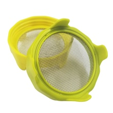 Jar Bean Sprouting Strainers Lids ABS Germination Strainers Lids Corrosion Resistant Strainers Lids For Kitchen